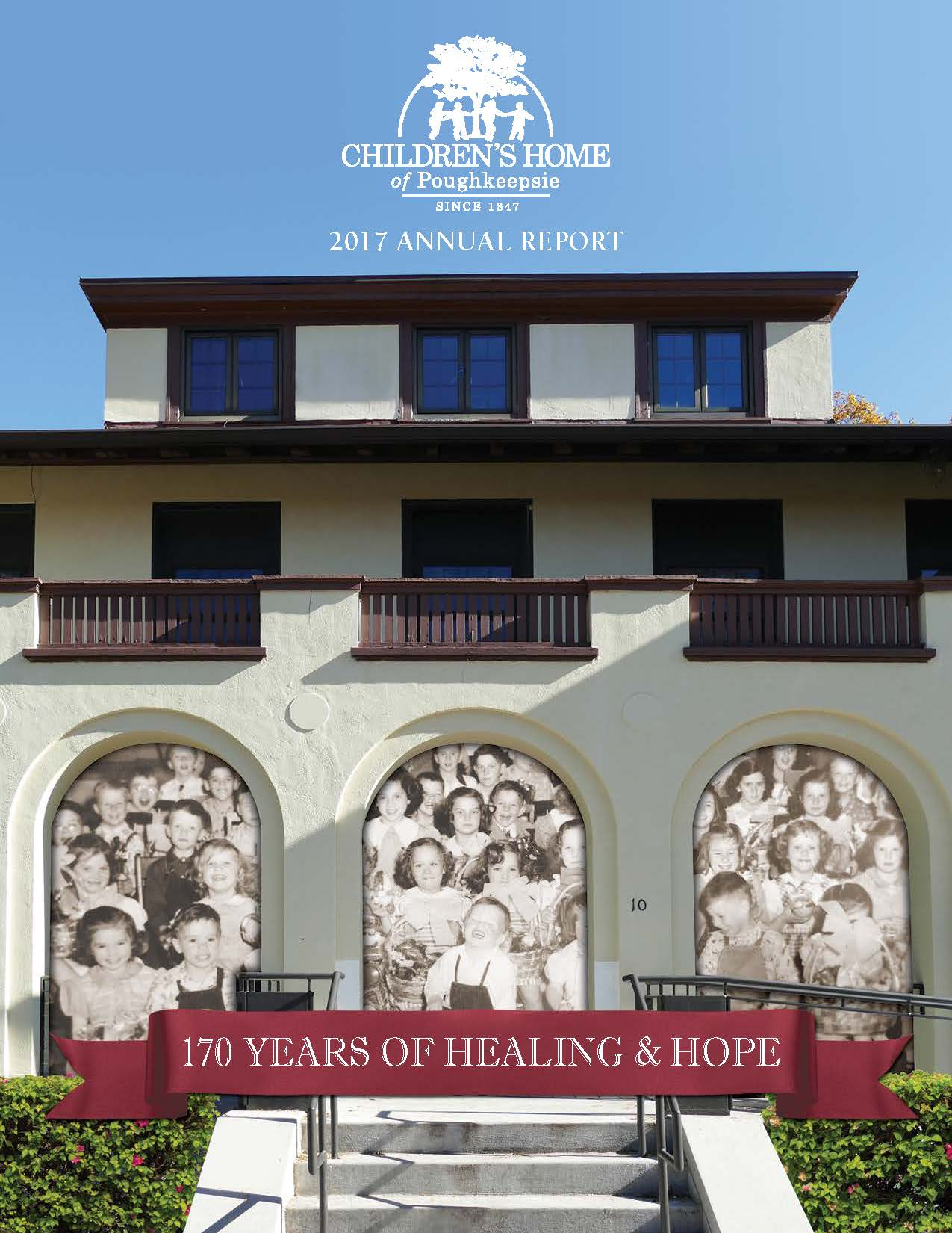 photo of 2017 Annual Report cover