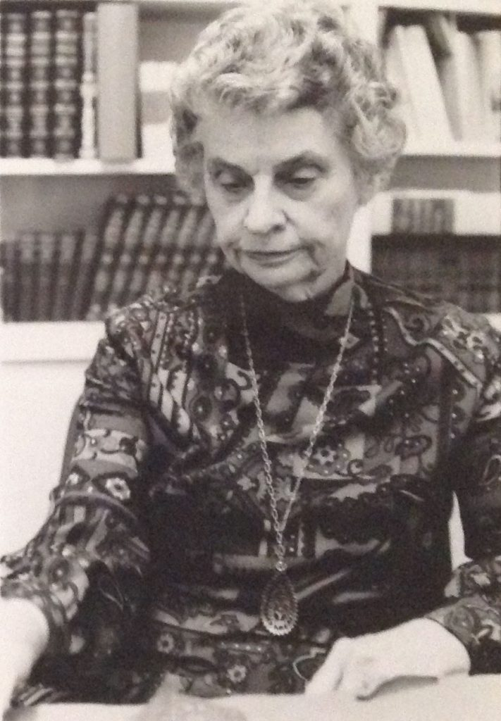 photo of Margaret Garrison