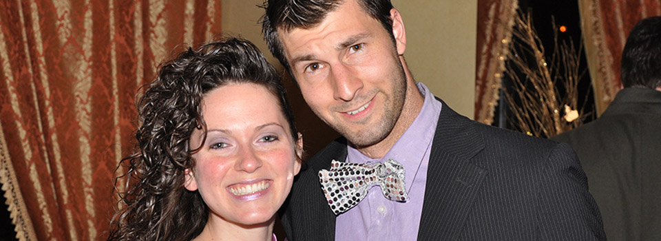 photo of a smiling young couple