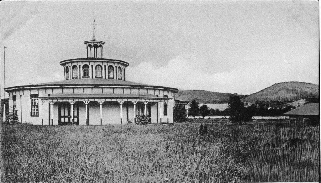 photo of the Exhibition Hall Dutchess County Fair Washington Hollow Site